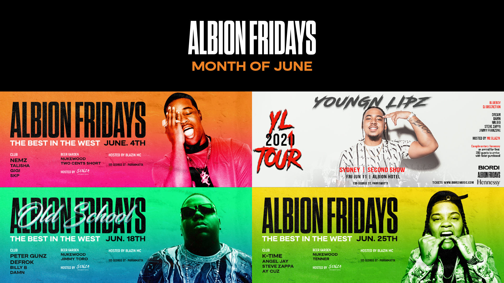 ALBION.FRIDAYS.JUNE.LINEUP